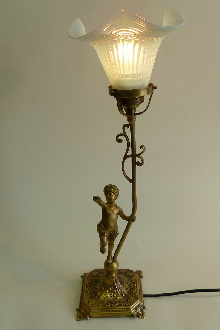 french art nouveau table lamp https://www.etsy.com/your/shops/DALESARTS/tools/listings/view:table,stats:true/166435575