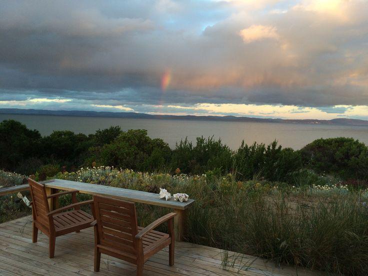 Storm viewing …sandtemple at Cremorne