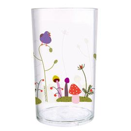 Petit Jour Forest Clear Tumbler  Distributed by Kaleidoscope