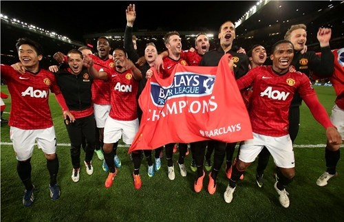 Manchester United are Champ20ns!