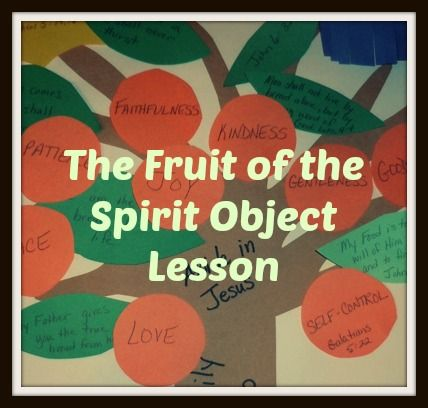 Are You Producing? Galatians 5:22 (Fruit of the Spirit Object Lesson) FREE Bible lesson from www.futureflyingsaucers.com
