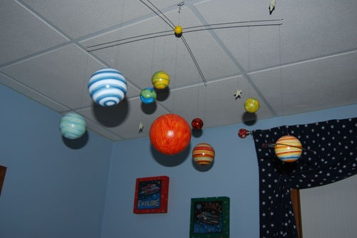 pottery barn solar system mobile