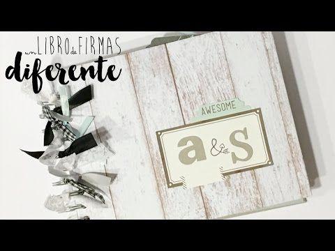 Un libro de firmas diferente TUTORIAL SCRAPBOOKING-ESTILO ALULI. vídeo patrocinado por creavea.es - YouTube