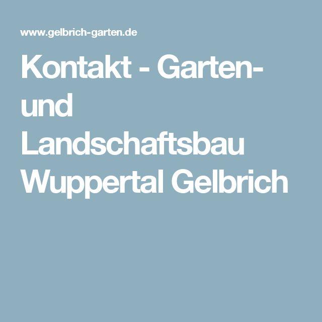 Cool Kontakt Garten und Landschaftsbau Wuppertal Gelbrich