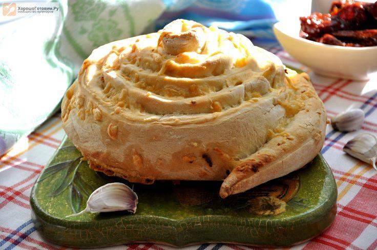 Итальянский кукурузный хлеб с сыром  Автор: Людмилa Семенюк