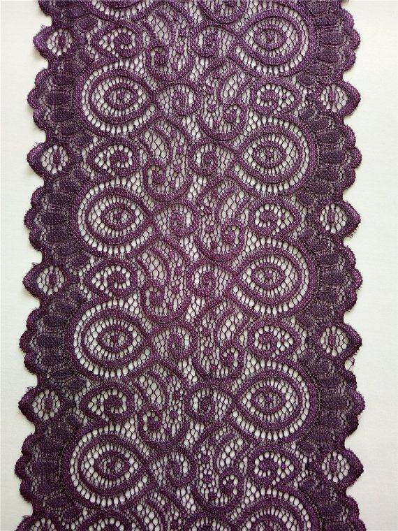 Eggplant purple table runner 7 wedding table runner