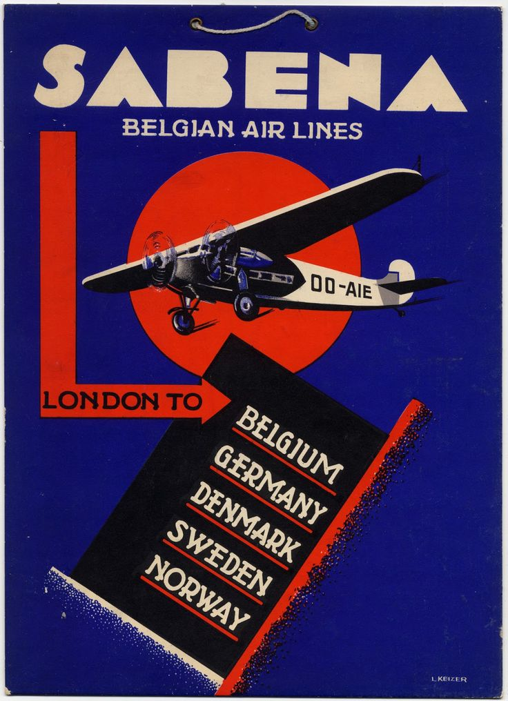 sabena belgian world airlines This vintage belgian poster is advertising sabena belgian world airlines the poster is promoting travel to africa sabena was the national airline of.
