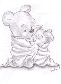 Piglet and wini the pooh tattoo idea