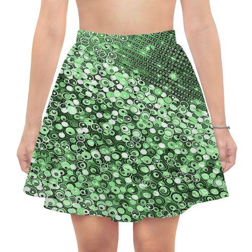 Юбка в складку - наилучший наряд в летний день! Ткань легкая, струящаяся, дизайн на нее наносится совершенным образом. Юбка в складку,длинной выше коленей, идеально садится на талии. Приятная на ощущения ткань не нуждается в особом уходе, поэтому такая юбка в складку очень практична в носке.