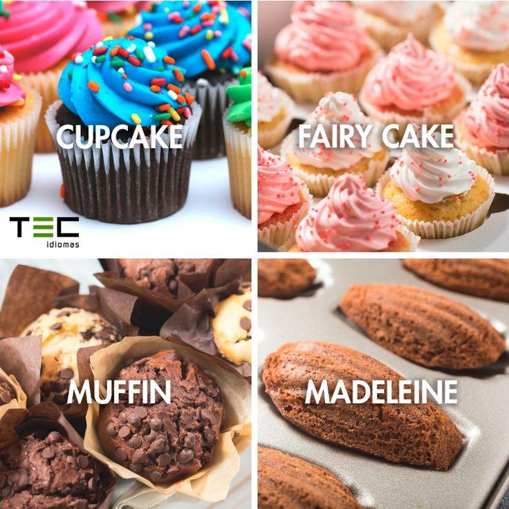 CURIOSIDADES ABROAD | ¿Qué diferencia una magdalena de un Cupcake? En Inglaterra distinguen hasta 4 tipos de magdalenas diferentes: ▸ CUPCAKE (coloridas y adornadas) ▸ FAIRY CAKE (con glaseado) ▸ MUFFING (gigantes y rellenas) ▸ MADELEINE (esponjosas y tradicionales) #StudyAbroad #English
