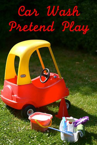 Car Wash Pretend Play