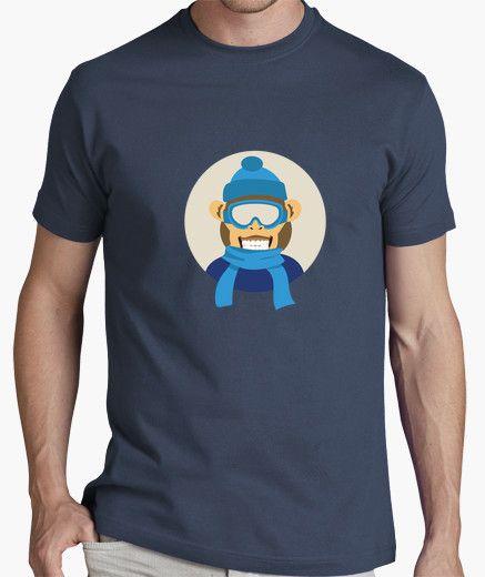 Camiseta niño-mono