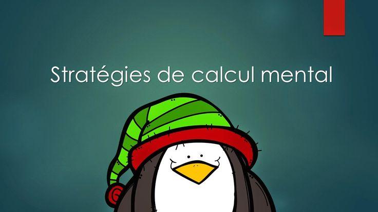 Jogging mathématique uniquement sur les différentes stratégies de calcul mental pour le 3e cycle - http://laclassedekarine.blogspot.ca/
