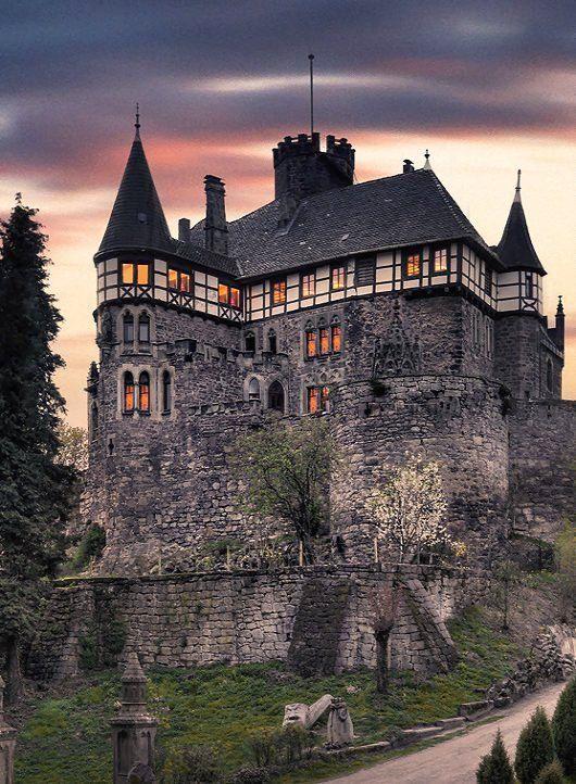Berlepsch Castle, Witzenhausen, Hesse, Germany