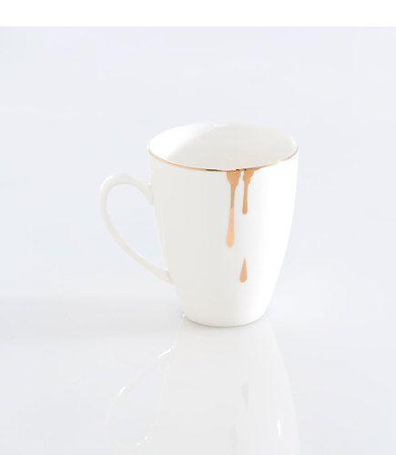 Drippy Gold Coffee Mug