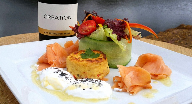 Creation salmon cheesecake | Flickr - Photo Sharing!