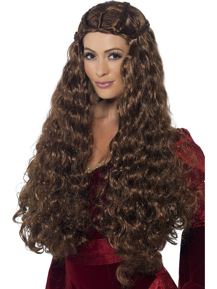 Medieval Princess | Wholesale Brown & Brunette Wigs for Kids And Adults