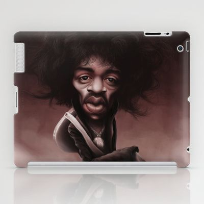 #JimHendrix iPad Case by Sant Toscanni - $60.00