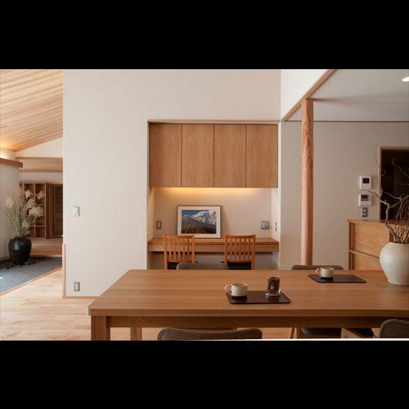 「金衛町の家」庭屋一如・通り土間の家 | 新潟で自然素材の住宅・無垢の家なら|オーガニックスタジオ新潟