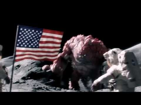 Funny Commercials: Moon Monster Beating Astronauts - Beans Commercial