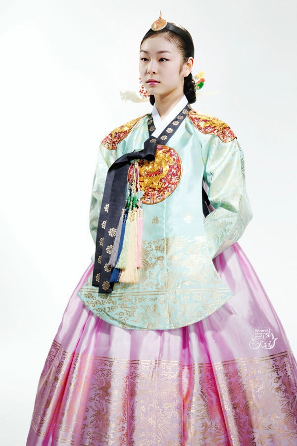 Korean princess, modeled by Kim Yuna
