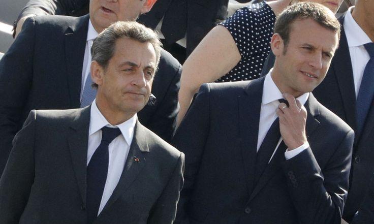"""Sarkozy au sujet du couple Macron: """"Il n'a pas un grand charisme, mais elle, elle est très bien"""""""