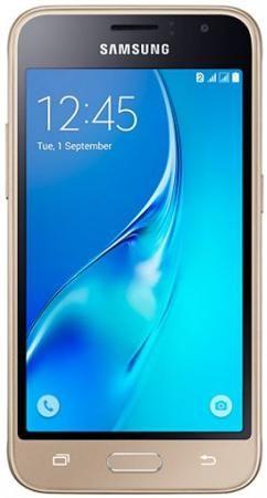 Samsung Galaxy J1 mini (2016), 8 Гб, Золотой  — 4990 руб. —  Смартфон Samsung J1 mini (2016) – компактная модель бюджетного смартфона. Размер дисплея всего 4 дюйма. Экран модели обеспечивает естественную цветопередачу и широкий диапазон оттенков. Снимайте качественные фотографии в сумерках и в движении − обе камеры смартфона 2 и 5 МП гарантируют высокое качество снимков. Тыловая камера имеет диафрагму f2,2 − она отлично справляется с ночной съемкой и фотографированием портретов. За…