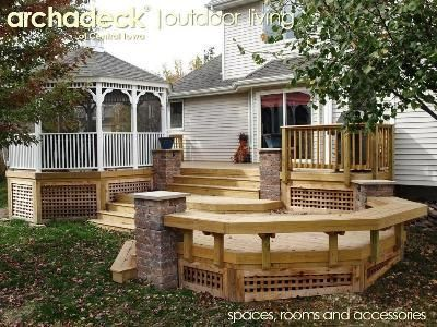15 best images about decks on pinterest - Building a garden pond step by step extra aesthetics and value ...