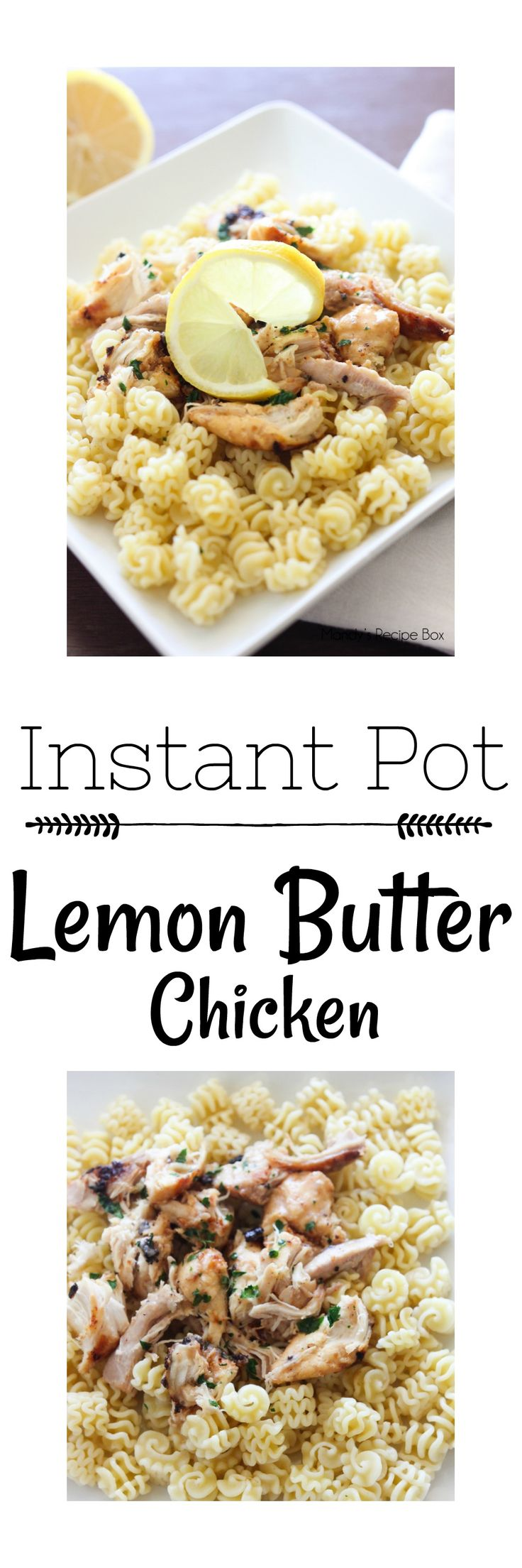 Pressure Cookers like the Instant Pot are all the rage now and for good reason! Get yourself one and make this Instant Pot Lemon Butter Chicken immediately. The buttery lemon sauce cooks into the chicken in just 8 minutes.
