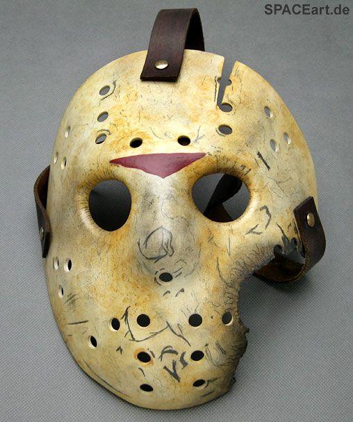 Freitag der 13. (Teil 7): Jason Voorhees Maske, Maske ... https://spaceart.de/produkte/fdd003.php