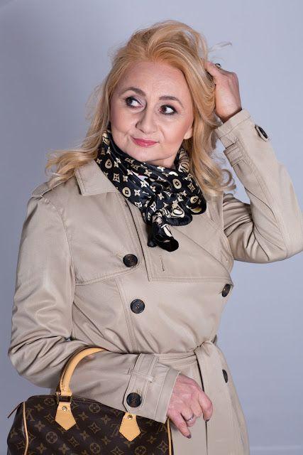 Babooshka Style - Blog modowy: Sesja studyjna z płaszczem w roli głównej