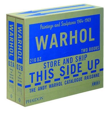 andy warhol catalogue raisonné / phaidon