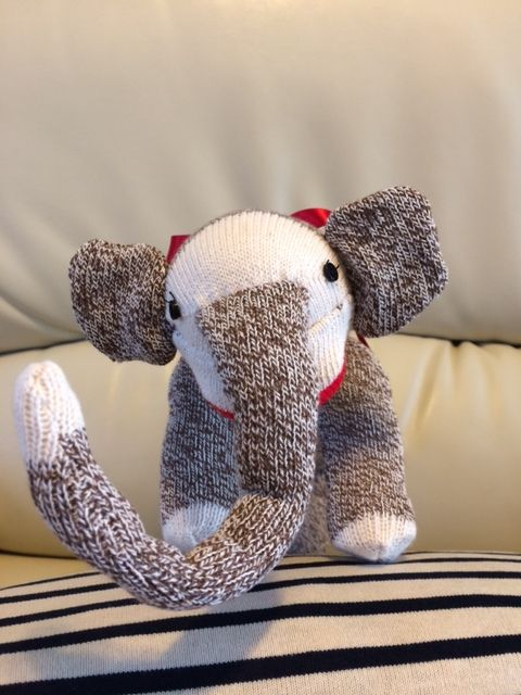 https://flic.kr/p/jYugEM | Sock Elephant