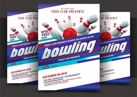 1575 best DtoI Marketing! images on Pinterest Event flyers - bowling flyer template