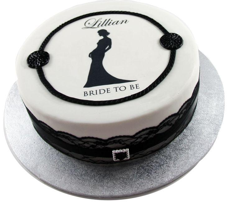 Bridal Shower Cake Like us at www.facebook.com/melianndesigns