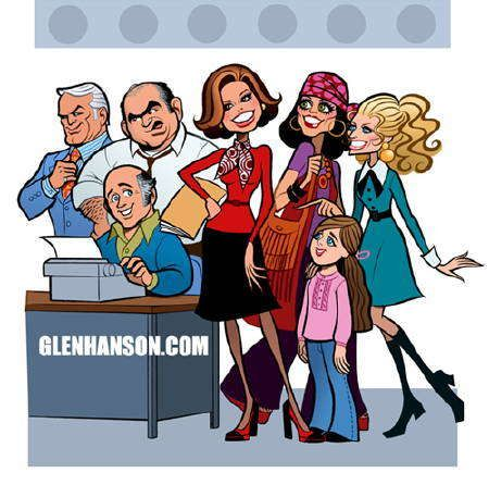 MTM cast by Glen Hanson