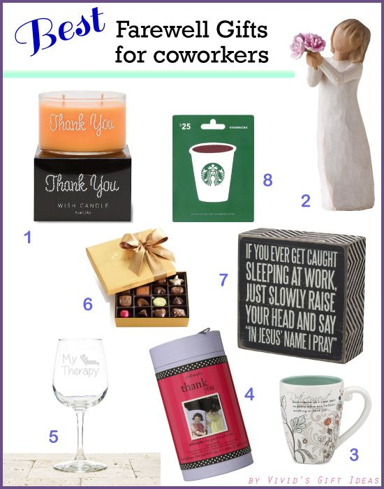 Best 18 Farewell Gift Ideas To Say Good Bye A Coworker 2019