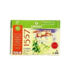 Canson 1557 Çizim Blok 120Gr 35X50 15Yp Eko 124500