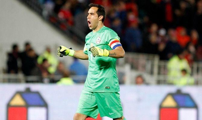 Una de las peores goleadas que sufrió la Roja fue en el Centenario de Montevideo cuando cayó por 4-0, ocasión donde el capitán de Chile fue titular. Noviembre 16, 2015.