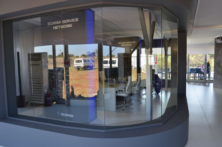 Scania at Gerotek Test Facilities - Boardroom in ground floor of Double Decker Marquee - OCT 2016