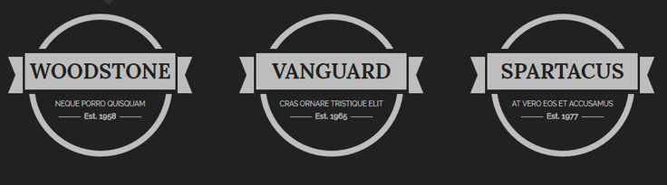 Винтажные CSS Логотипы. Все любят Логотипы в стиле винтаж / ретро. Из года в год…