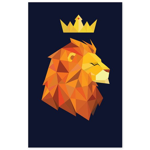 Geometric Lion                                                                                                                                                                                 More