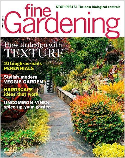 Fine Gardening Magazine   December 2015 U0027Cool Season Containersu0027 L Unique  By Design