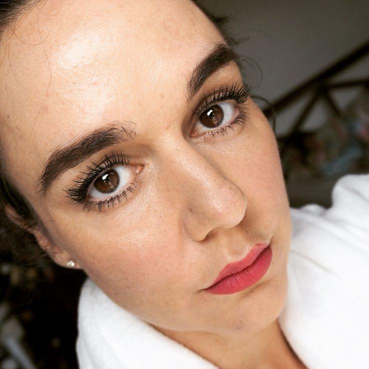 full face pic wearing maxi mod by kiko- kiko mascara review