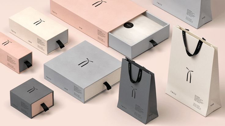 Branding & packaging for Twice Fashion by SocioDesign