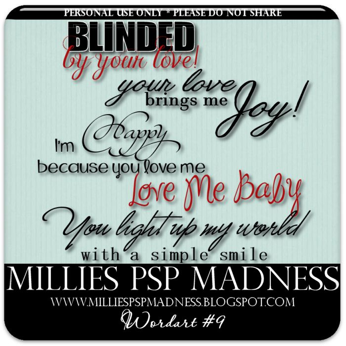 millies psp madness wordart 9 valentine word art