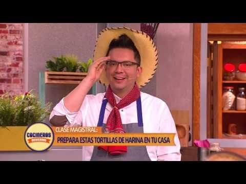 Receta: Clase Magistral - Tortillas de Harina | Cocineros Mexicanos - YouTube