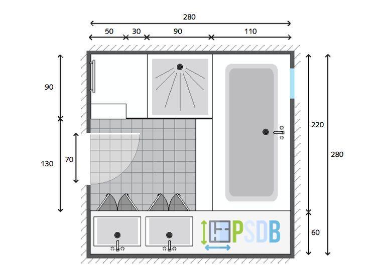 14++ Plan salle de bain 7m2 inspirations