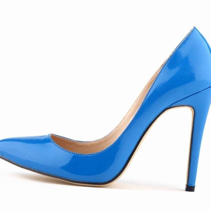 2015 ну вечеринку платье женская обувь женщины туфли на высоком каблуке сексуальная острым носом попы Platform11cm