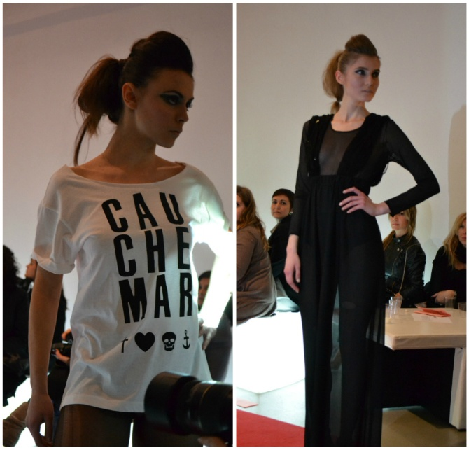 #MAISONCAUCHEMAR designer for #IAMTHEFUTURE over the fashion week [fonte: http://www.breakfastatkaty.com/]
